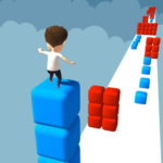 Cube Stacker Surfer 3D – Run Free Cube Jumper Game 1.34 APK (MOD, Unlimited Money)