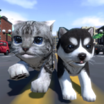 Cute Pocket Cat And Puppy 3D 1.9.4 APK (MOD, Unlimited Money)