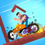 Dismounting Masters 1.10  APK (MOD, Unlimited Money)