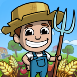 Idle Farm Tycoon – Merge Simulator 1.0 APK (MOD, Unlimited Money)