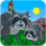 Raccoon Adventure: City Simulator 3D 1.02 APK (MOD, Unlimited Money)