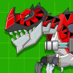 Red T-Rex Robot Dinosaur 2.4  APK (MOD, Unlimited Money)