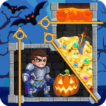 Rescue Hero: Pull the Pin – Halloween 1.35 APK (MOD, Unlimited Money)
