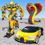 Snake Robot Transform Car Simulator 1.18  APK (MOD, Unlimited Money)