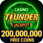 Thunder Jackpot Slots Casino – Free Slot Games  APK (MOD, Unlimited Money) 2.6
