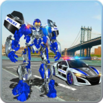 US Police Car Real Robot Transform: Robot Car Game 163 APK (MOD, Unlimited Money)