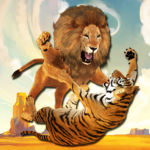 Ultimate Lion Vs Tiger: Wild Jungle Adventure 1.4 APK (MOD, Unlimited Money)
