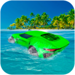 Water Surfer Floating Car 1.3 APK (MOD, Unlimited Money)