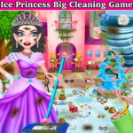 Winter Princess Big House Cleaning- Home Cleaning 1.1 APK (MOD, Unlimited Money)