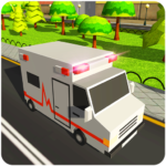 Blocky US Fire Truck & Army Ambulance Rescue Game 1.0.5 APK (MOD, Unlimited Money)