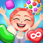 Candy Go Round 1 Free Candy Puzzle Match 3 Game  1.10.0 APK (MOD, Unlimited Money)
