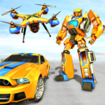 Drone Robot Car Game – Robot Transforming Games 1.2.4 APK (MOD, Unlimited Money)