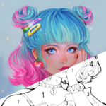 Sweet Coloring Color by Number Painting Game 1.0.33 APK (MOD, Unlimited Money)