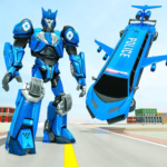 Flying Limo Robot Car Transform: Police Robot Game  APK (MOD, Unlimited Money)