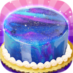 Galaxy Mirror Glaze Cake – Sweet Desserts Maker 1.2 APK (MOD, Unlimited Money)