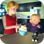 Real Mother Baby Games 3D: Virtual Family Sim 2019 1.0.6 APK (MOD, Unlimited Money)