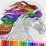 Relaxing Adult Coloring Book 2.7 APK (MOD, Unlimited Money)