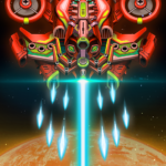 Sky Raptor Space Shooter – Alien Galaxy Attack  1.3.7 APK (MOD, Unlimited Money)