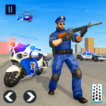 US Police Bike 2020 – Gangster Chase Simulator 3.0 APK (MOD, Unlimited Money)