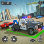 Police Tow Truck Driving Simulator 1.1 APK (MOD, Unlimited Money)