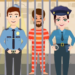 Pretend Play Police Officer Prison Escape Sim 1.0.3 APK (MOD, Unlimited Money)