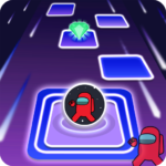 Among Us imposter Dancing hop ball 3.0 APK (MOD, Unlimited Money)