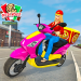 Moto Bike Pizza Delivery – Girl Food Game 1.0 APK (MOD, Unlimited Money)