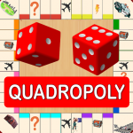 Quadropoly Best AI Board Business Trading Game  1.78.83 APK (MOD, Unlimited Money)