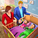 Virtual Mother Baby Twins Family Simulator Games 1.1.4 APK (MOD, Unlimited Money)