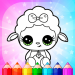 Flower Magic Color-kids coloring book with animals  3.9 APK (MOD, Unlimited Money)