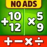 Math Games Addition, Subtraction, Multiplication  1.1.3 APK (MOD, Unlimited Money)