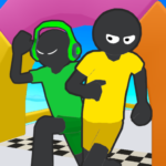 Stickman Fall | Running Stick Guys 3D Varies with device APK (MOD, Unlimited Money)