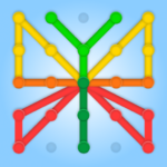 GeoBoard relaxing puzzle game drawing lines shapes 1.4.0. APK (MOD, Unlimited Money)