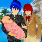 Anime Family Simulator: Pregnant Mother Games 2021 1.1.7 APK (MOD, Unlimited Money)