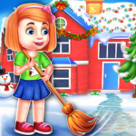 Christmas House Cleaning Game 1.0.5 APK (MOD, Unlimited Money)