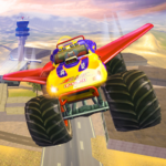 Offroad Flying Monster Truck Driving 1.5 APK (MOD, Unlimited Money)