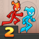 Fire and Water Stickman 2 : The Temple 0.4.2 APK (MOD, Unlimited Money)