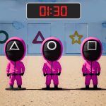 Pink Squad – Run, Stop Game – Red Green Light 0.3 APK (MOD, Unlimited Money)