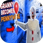 Scary Clown Pennywise 🤡 Granny Horror Mod 👻 3.0 APK (MOD, Unlimited Money)